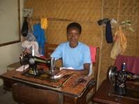 Sewing Class Student-Kent Foundation Training Inst., Mbarara, Uganda