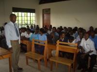 Principle and students, Kent Foundation Training Inst., Mbarara, Uganda