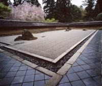 Ryoanji's Zen Rock Garden, Kyoto, Japan